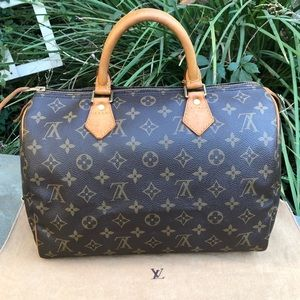 💯 Authentic LV Monogram Speedy *30 W/DUST BAG* ❤️